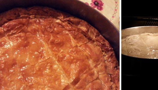 """Galaktoboureko"" a traditional Greek dessert  for Christmas!"