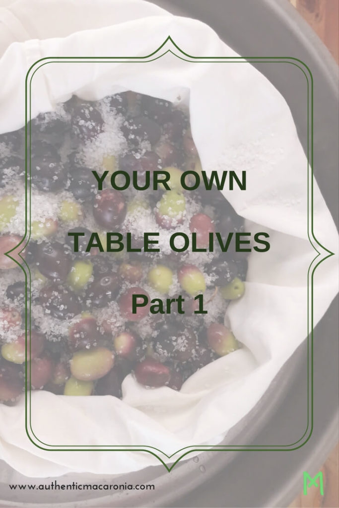 your own table olives