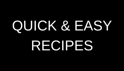 Quick & Easy Recipes