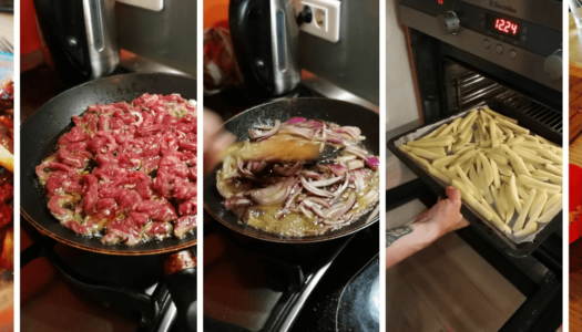 The jungle meal – Lomo Saltado