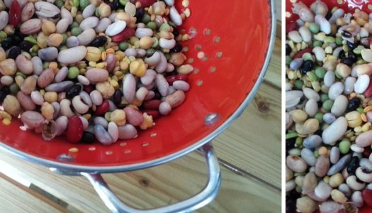 """Pallikaria"" More than 10 to 15 legumes and seeds in one dish!"
